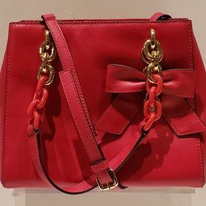 Michael Kors Cynthia Leather Convertible Satchel
